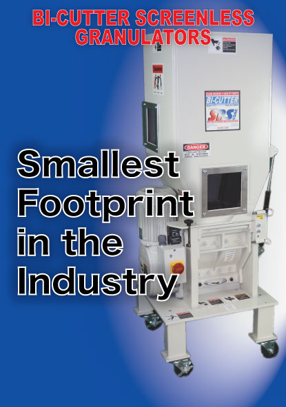 Smallest Footprint in the Industry